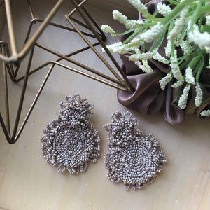 Jewelry - 🌚Relic beaded circle drop earrings